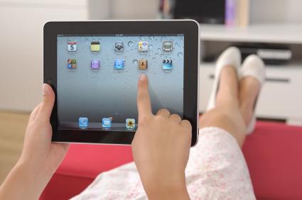 iPad home