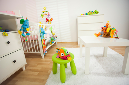 Baby room in home