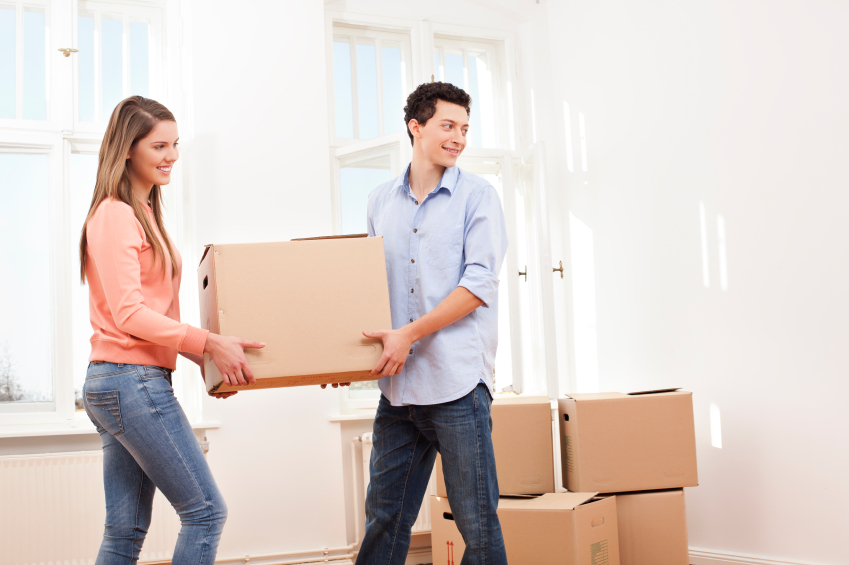 Moving in together into your new home