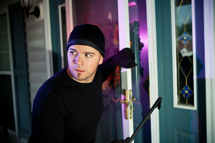 unoccupied home burglary