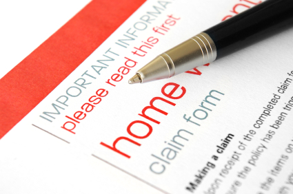 home insurance claims form