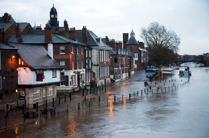 Fears that flooding will increase insurance and bring down house prices
