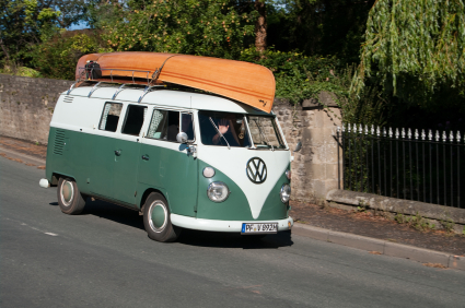 VW Campervan - Travel UK - Staycation