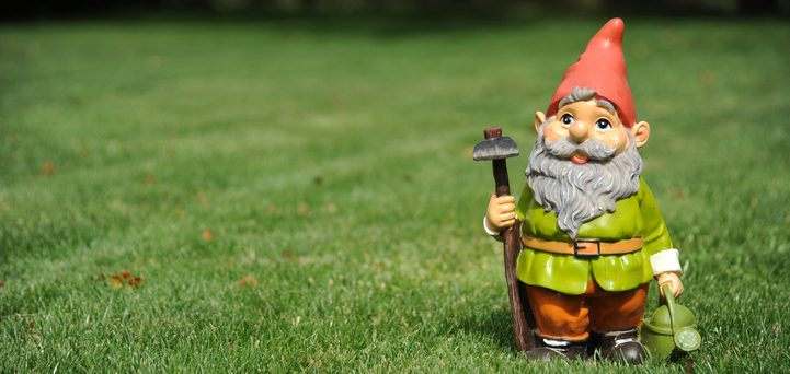 Gnome theft auto – surprisingly high rates of theft for garden gnomes