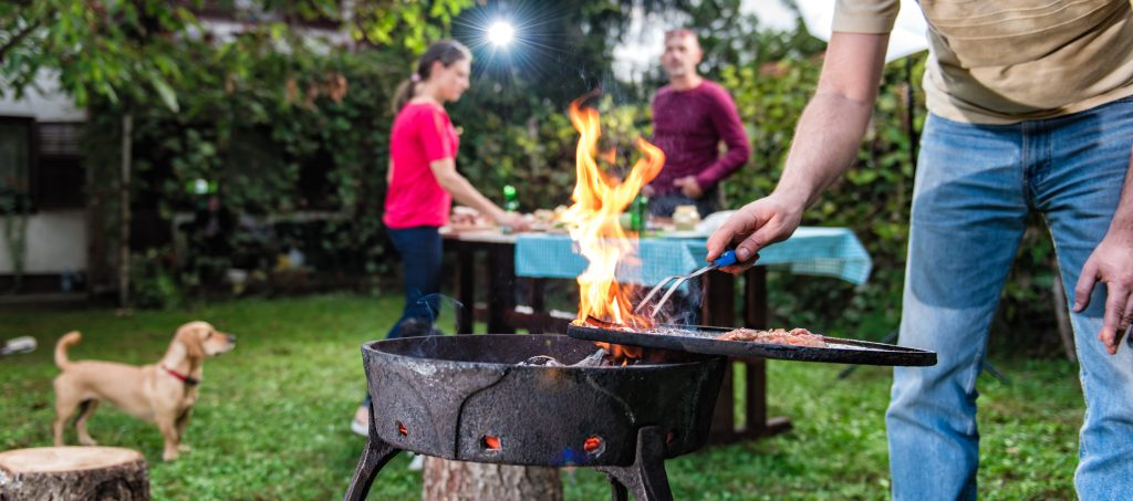 Protect against garden fires!