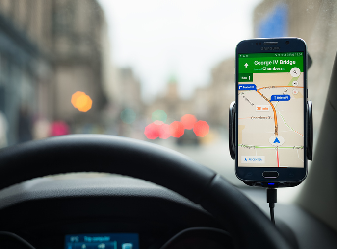 Using your phone as a sat nav? You could be flouting the law!