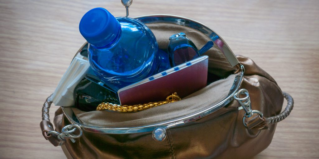 How much do the contents of your handbag add up to?