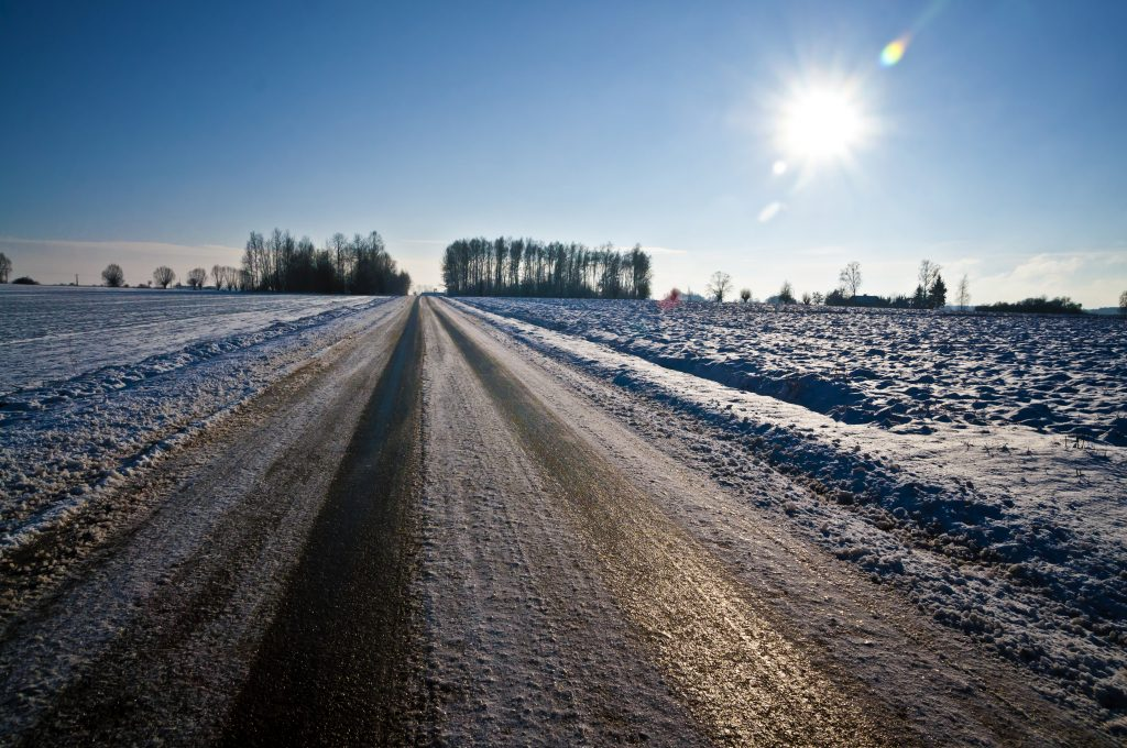 Tackling treacherous black ice this winter